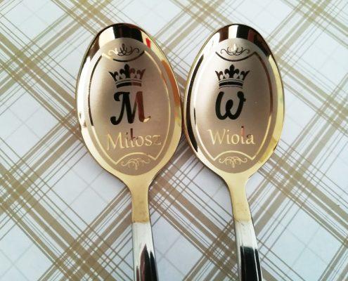Łyżeczki z imieniem Wiola, Milosz
